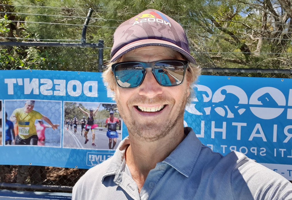 Nick Croft - winner of Noosa Triathlon