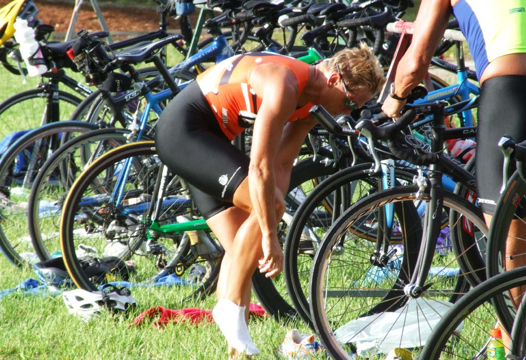 Ironman Transition Training